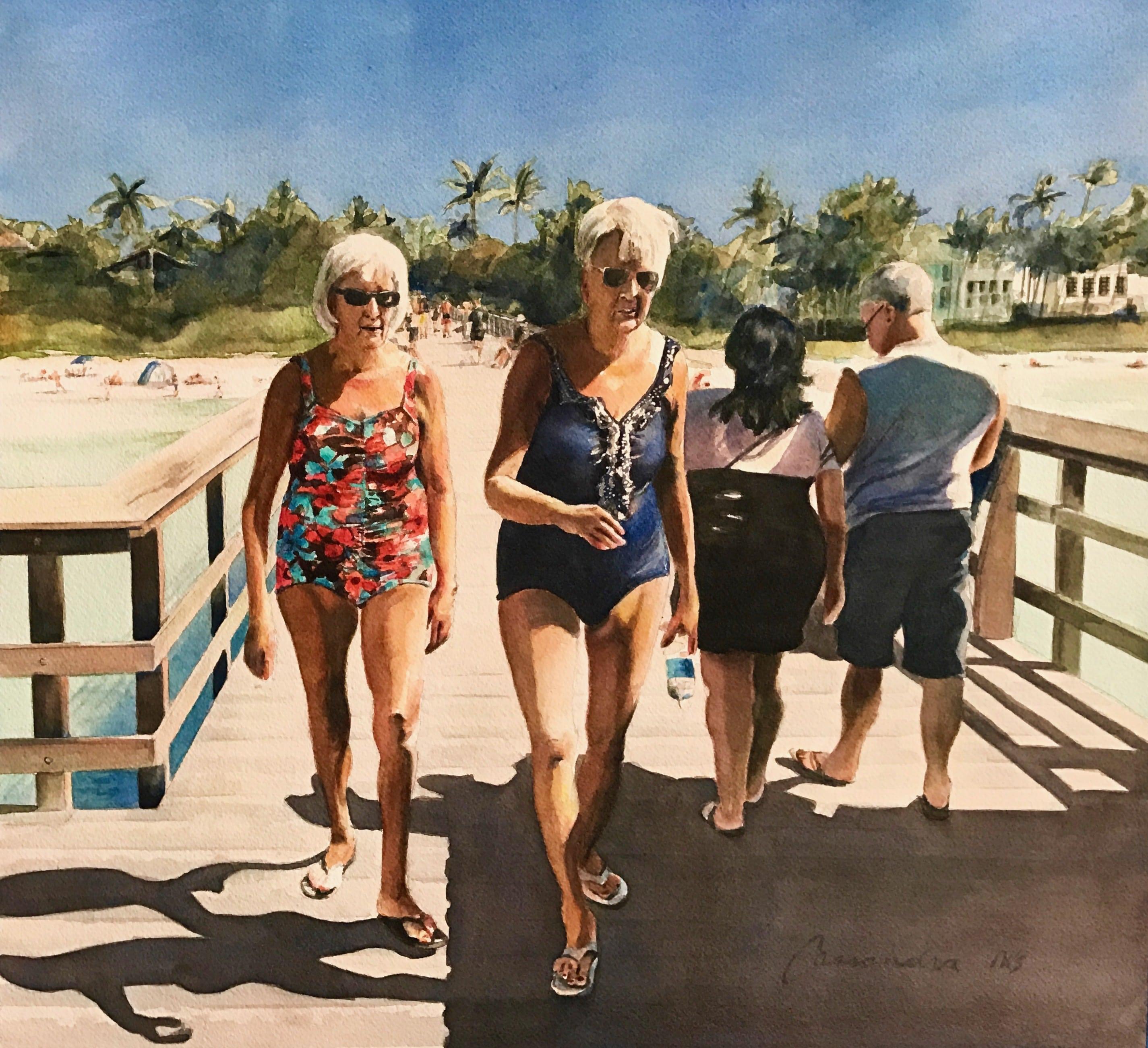 women, portrait, bathing suit, florida